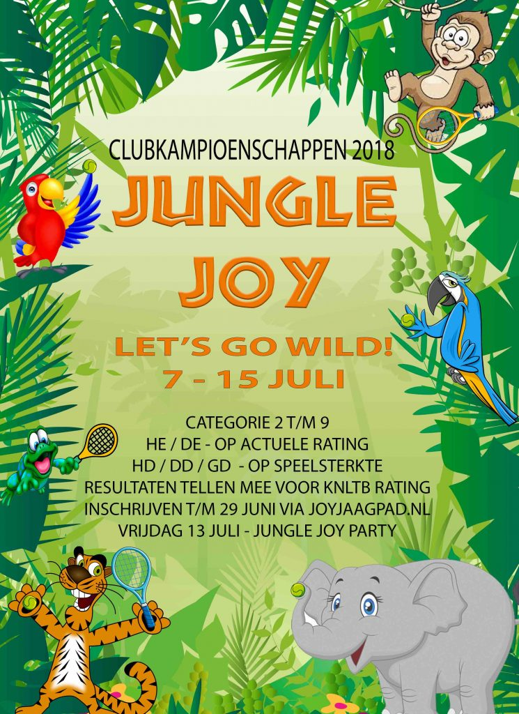Jungle Joy poster final